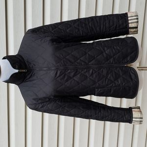 BURBERRY NOVA CHECK LINED QUILTED JACKET